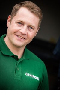 Richard Heiberger - Gründer und Geschäftsführer von SANIROHR, Experte in Sachen Rohrreinigung und Kanalsanierung